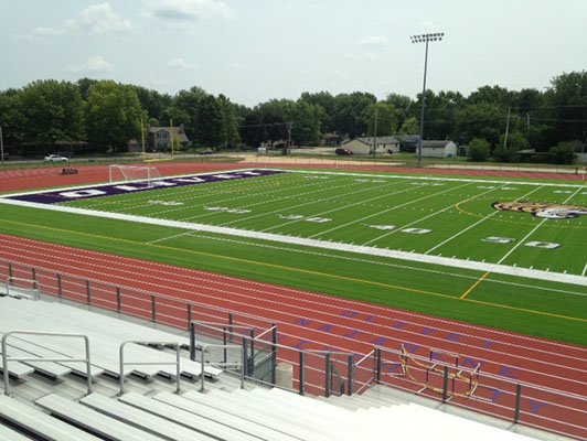 Football Field Artificial Turf - Olivet Nazarene University