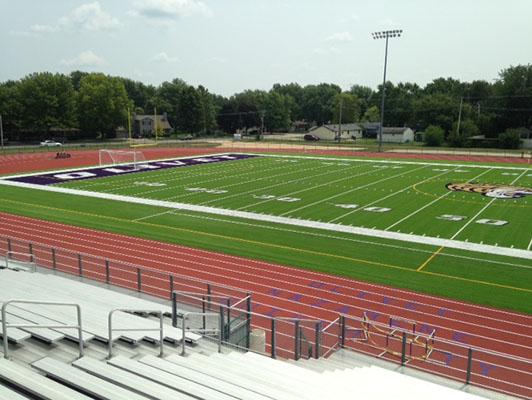Football Field Artificial Turf - Olivet Nazarene University