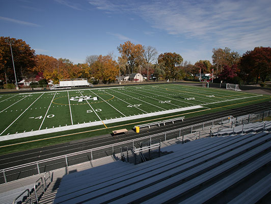 Ottawa Hills High School Football Field Artificial Turf