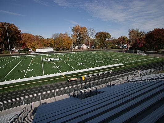 Ottawa Hills High School Football Field Artificial Turf
