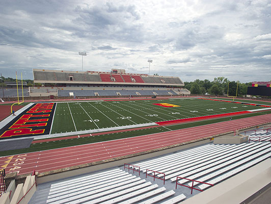 Pittsburg State University Football Artificial Turf
