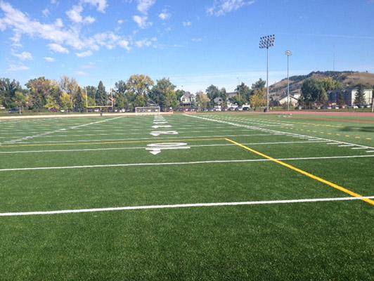 Sioux Park City Football Field Artificial Turf