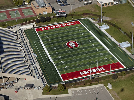 Football Field Artificial Turf - St Cloud State University