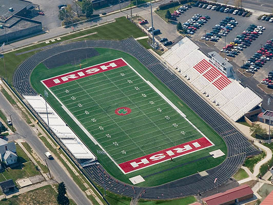 Toledo Catholic High School Football Field Artificial Turf