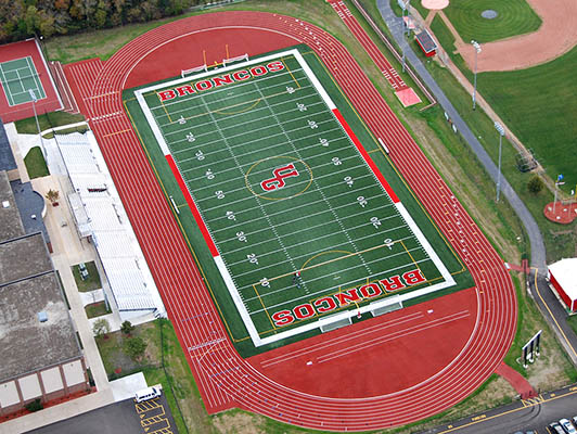 Union Grove High School Football Field Turf