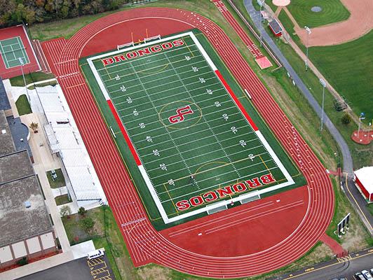 Union Grove High School Football Field Turf