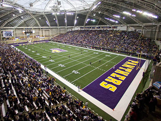 University Northern Iowa Football Synthetic Turf