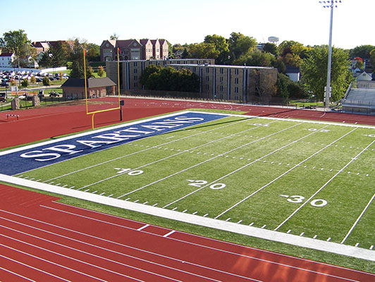 Football Synthetic Turf - University Of Dubuque