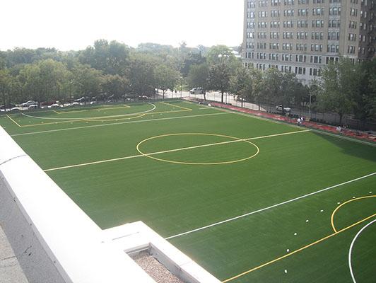 Francis Parker School Artificial Soccer Turf