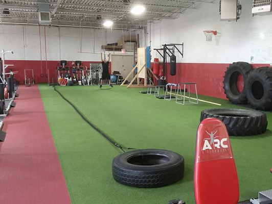 ARC Performance Center - Exercise Flooring
