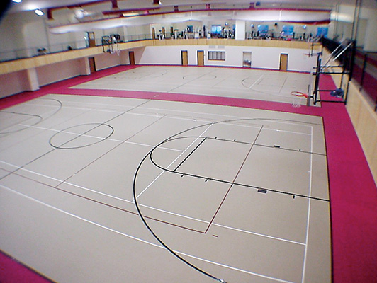 Fergus YMCA - Gym Rubber Flooring