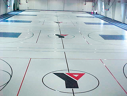 Herritage YMCA - Indoor Athletic Surfaces