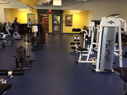 Murfreesboro Sportscom - Workout Room Flooring