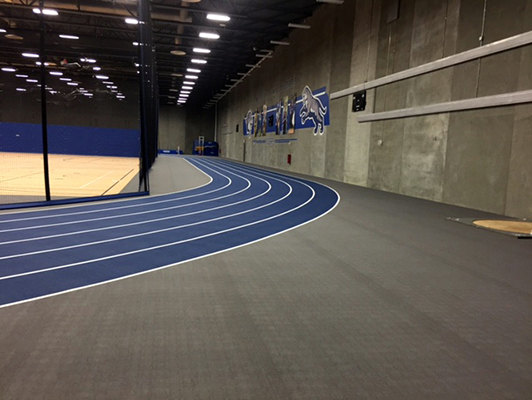 Dakota Wesleyan University - Indoor Track / Fieldhouse Flooring