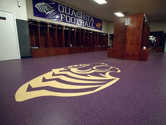 Locker Room Flooring, Training Room Flooring