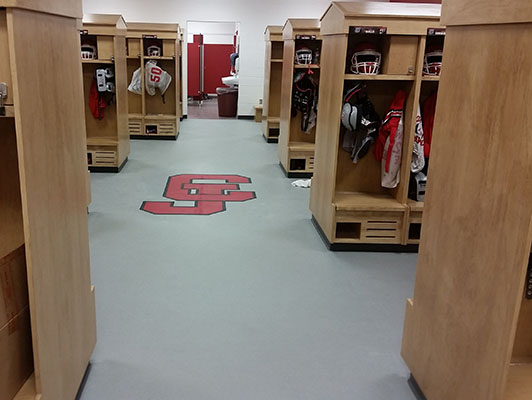 Carl Junction High School, Locker Room, MO