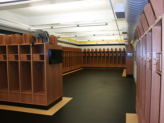West Liberty College - Locker Room Flooring