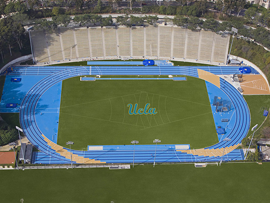 Outdoor Track UCLA - Outdoor Track / Field Surfaces