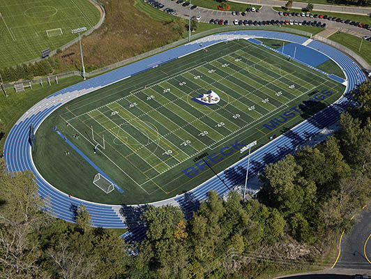 Breck School - Outdoor Track And Artificial Turf Field