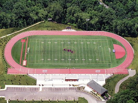 Central Baptist College - Outdoor Track And Artificial Turf Field