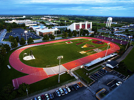 Eastern Kentucky University - Outdoor Track Field - Sports Surfaces