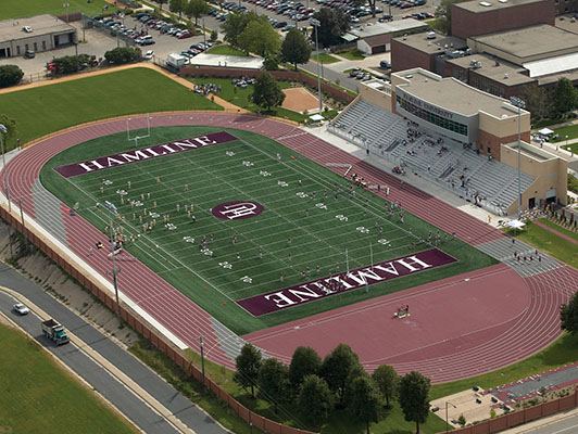 Hamline University - Outdoor Track & Field Surfaces