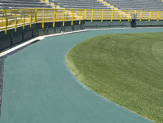 Lambeau Field - Walking Track - Sports Flooring Solutions