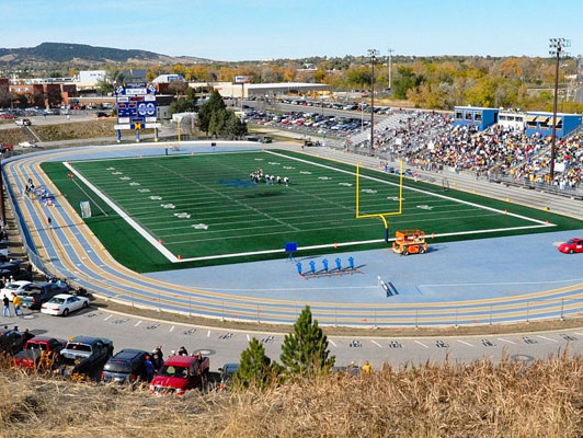 South Dakota School Of Mines - Outdoor Track & Field Surfaces