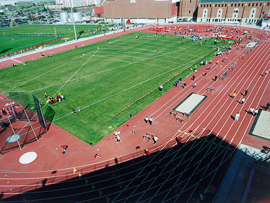 University Of Nebraska - Outdoor Track Field Surfaces