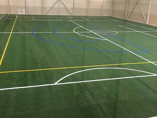 Soccer Field Artificial Turf - Bielenberg Sports Center