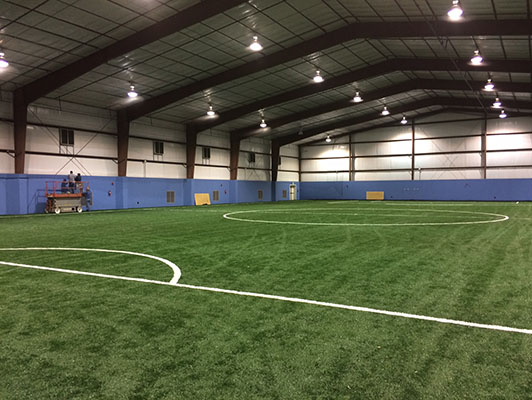 JD Sportsplex Soccer Artificial Turf