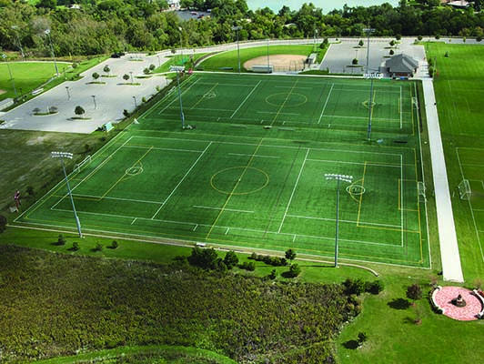 Loyola Academy Artificial Soccer Turf