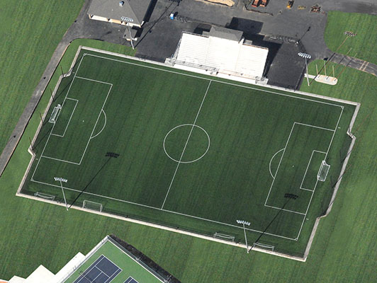 Artificial Soccer Turf Park Hill High School