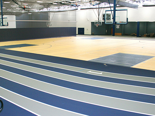Addison Trail High School Running Track