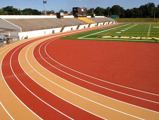 Baldwin Wallace Running Track