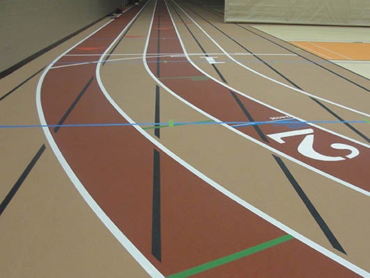 Dekalb High School Running Track Flooring