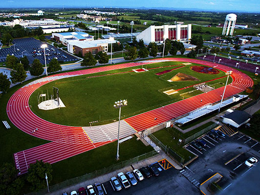 Eastern Kentucky University Running Track Surfaces