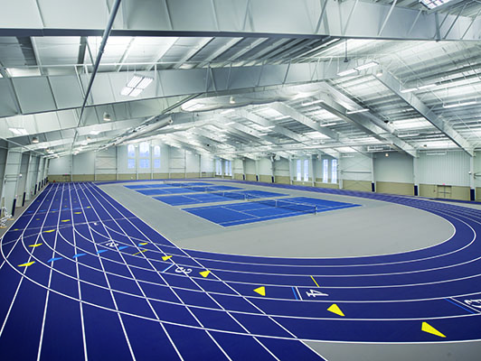 Hillsdale College Running Track Surfaces