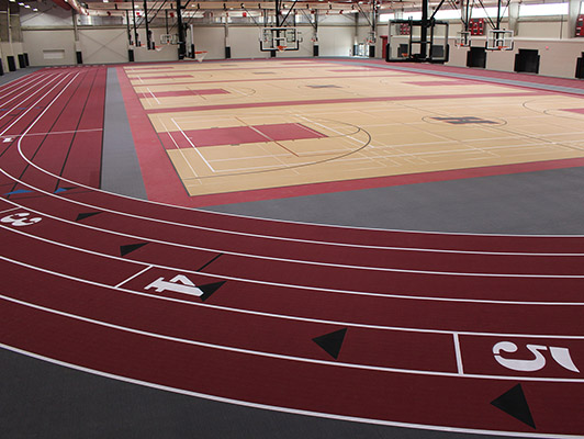 Huntley High School Running Track Surfaces