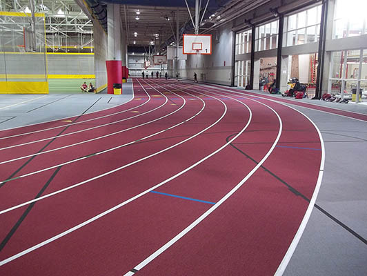 Iowa State University Running Track Surfaces