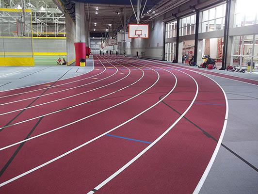 Iowa State University Running Track Surfaces