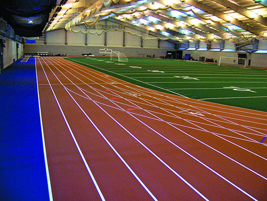 Kent State University Running Track Flooring