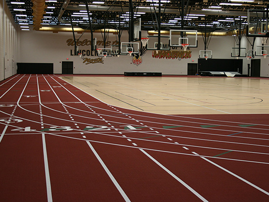 Running Track Flooring Lincoln Way North High School