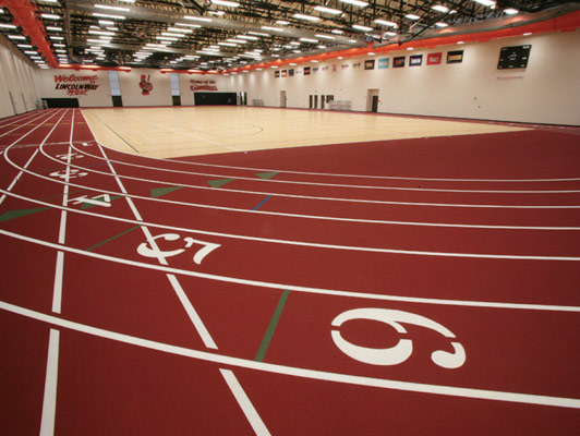 Running Track Flooring Lincoln Way West High School