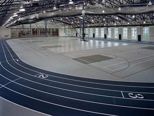 Marietta College Running Track Flooring