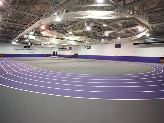 Merrillville High School Running Track Surfaces
