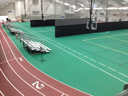Millikin University Running Track Surfaces