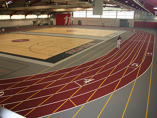 Niles West High School Running Track Surfaces