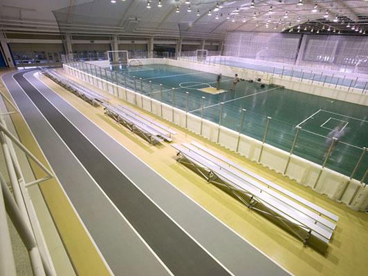 Northern Illinois University Running Track Surfaces