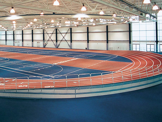Penn State University Running Track Surfaces